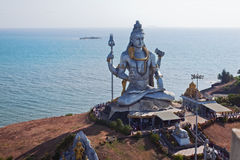 Large statue of Shiva Stock Photos