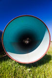 Large Steel Water Pipe Painted Royalty Free Stock Photos