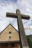 The large stone cross Stock Photos