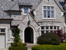 Large stone house Royalty Free Stock Images