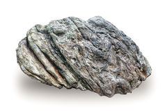 Large stone on isolate Stock Image