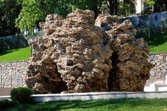 Large stone limestone Stock Images