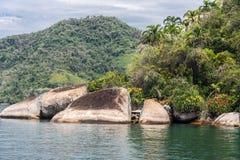 Paraty Bay Rio de Janeiro Brazil Royalty Free Stock Photos