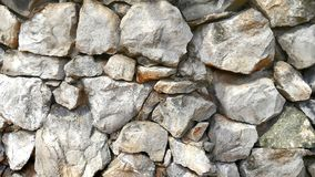 Large stone wall texture. Background Stock Photography