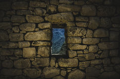 Window of Machu Picchu Royalty Free Stock Image