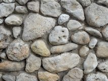 Free Large Stones Background, Boulders Fence Royalty Free Stock Photography - 118070227