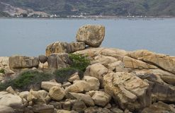 Large stones royalty free stock images