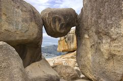 large stones stock photography