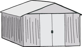 Large Storage Shed Stock Images