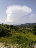Large storm cloud Stock Photos