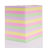 Large striped gift box Stock Image