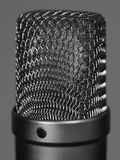 Large studio vocal microphone Royalty Free Stock Image