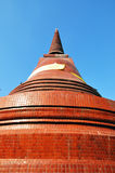 Large stupa in Thailand Royalty Free Stock Photography