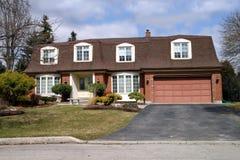 Large suburban house royalty free stock images