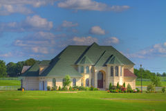 Large Suburban House Stock Photos