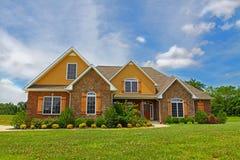 Large Suburban House Royalty Free Stock Photo