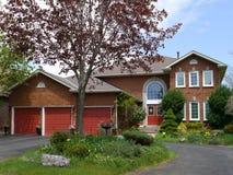 Large suburban house Royalty Free Stock Photography