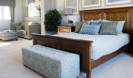 Large  suite and bedroom Stock Photography
