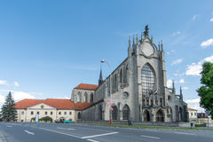 Katedrala Nanebevzeti Panny Marie. The Church of the Assumption of Our Lady and Saint John the Baptist stock photography