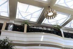 Large sunroof of huizhan ( exhibition ) hotel Royalty Free Stock Photos