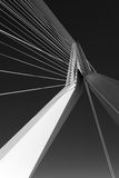 Large suspension bridge Stock Image