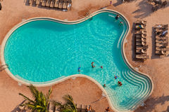 Large Swimming Pool Royalty Free Stock Photos