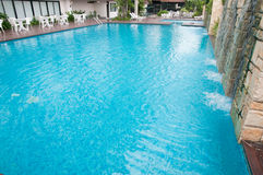 Large swimming pool Royalty Free Stock Photography