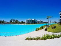 Large swimming pool Stock Photo