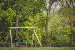 Large swing Royalty Free Stock Photo