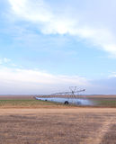 Large systems for field irrigation Stock Photography