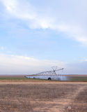 Large systems for field irrigation Royalty Free Stock Photo