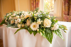 Large table bouquet Royalty Free Stock Image