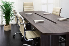 Large table and chairs Royalty Free Stock Photos