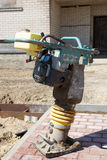 Large Tamping Rammer Royalty Free Stock Photography