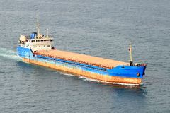 Large tanker ship Royalty Free Stock Photos