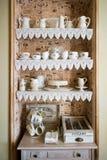 Large tea set Stock Photo