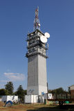 Large Telecommunications Tower Stock Image