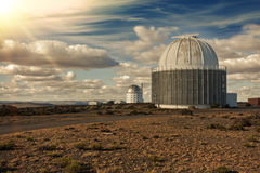 Large telescope Stock Image