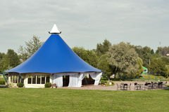 Large tent for celebrations Stock Image