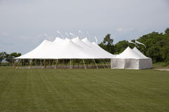 Large tent for hire Royalty Free Stock Image