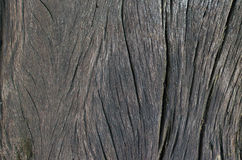 Large and textured dark old wooden grunge background Royalty Free Stock Photography
