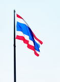 Large Thai flag Stock Photography