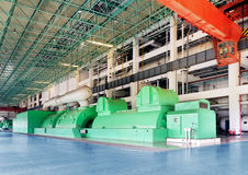 Large thermal power machine Royalty Free Stock Photo