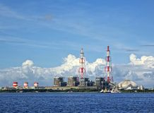 Large Thermal Power Plant Stock Image