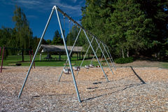 Large Toddler Swing Stock Photography