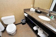 Large toilet area Royalty Free Stock Image
