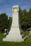 Large Tombstone Stock Photography