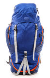 Large touristic backpack on white Stock Photos