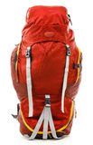 Large touristic backpack on white Stock Image