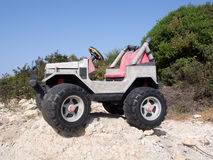 Large toy car Stock Images